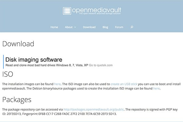 openmediavault download