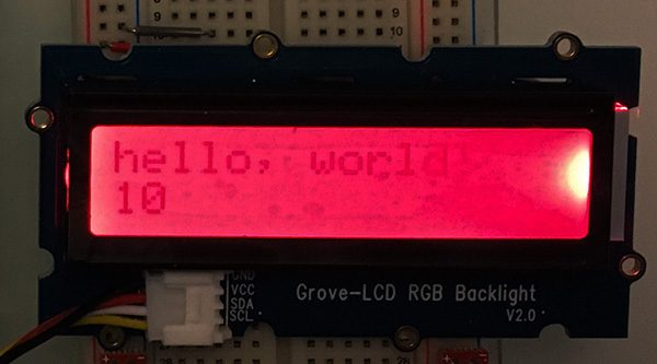 Grove lcd rgb i2c blacklight red