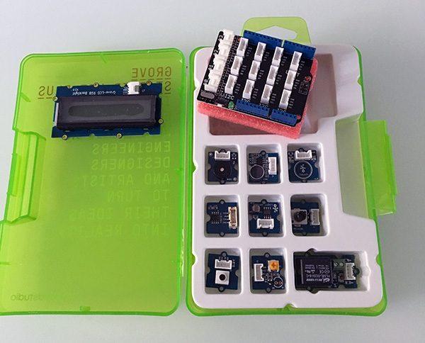 Grove starter kit shield for arduino