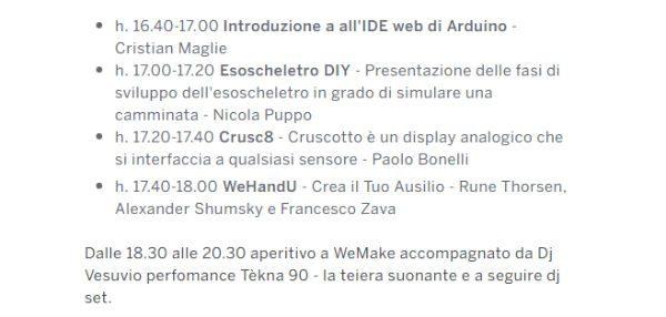 Arduino day presentazioni 2