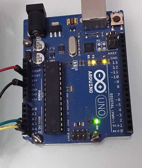 DS3231 Real Time Clock Module Back arduino connect