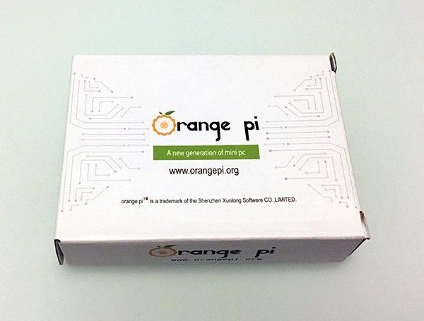 orangePi unboxing board