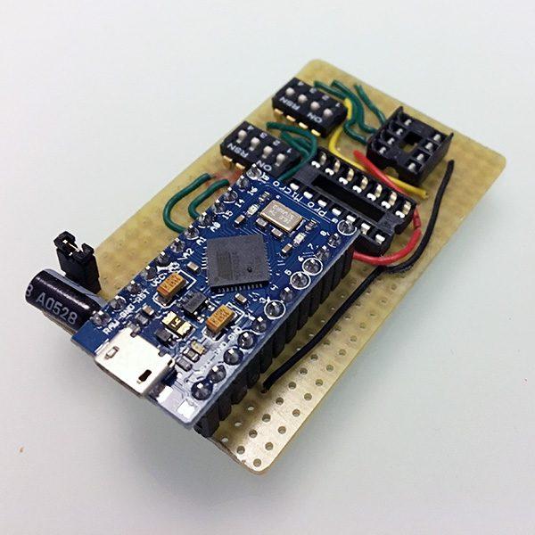 attiny85 attiny84 programmer pro micro