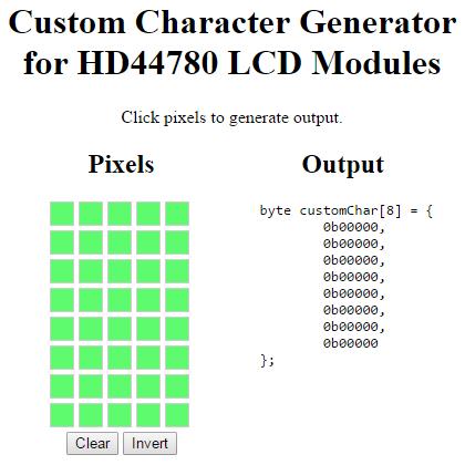 Custom Character Generator
