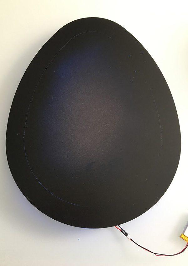 Easter egg infinity mirror attiny85 neopixel turn off