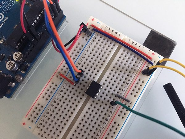 I2C Attiny85 slave ADC connection