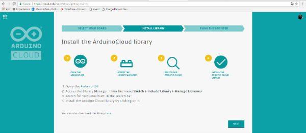 arduino cloud third page