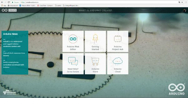 arduino create cloud