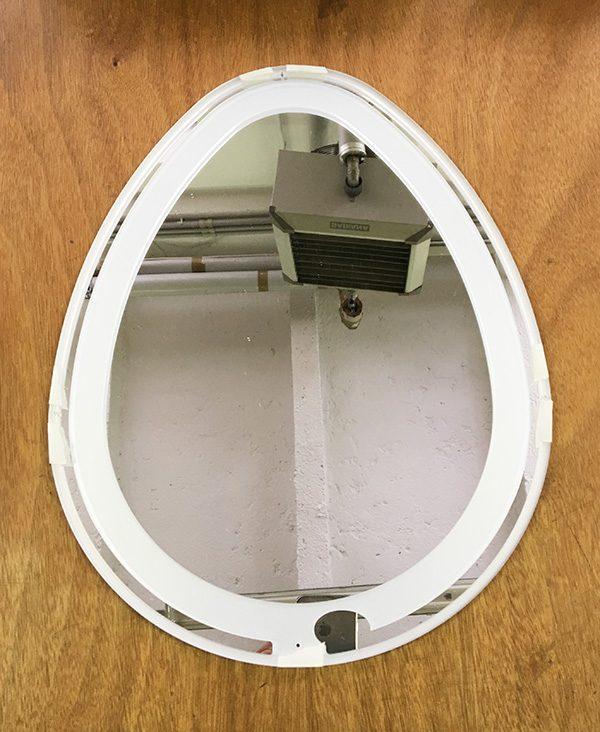 easter egg infinity mirror frame step height