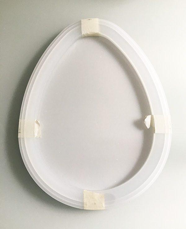easter egg infinity mirror plexyglass internal block