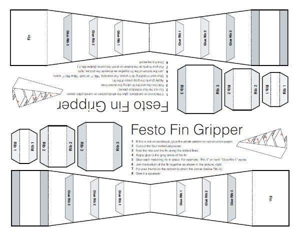 festo fingripper original costruction
