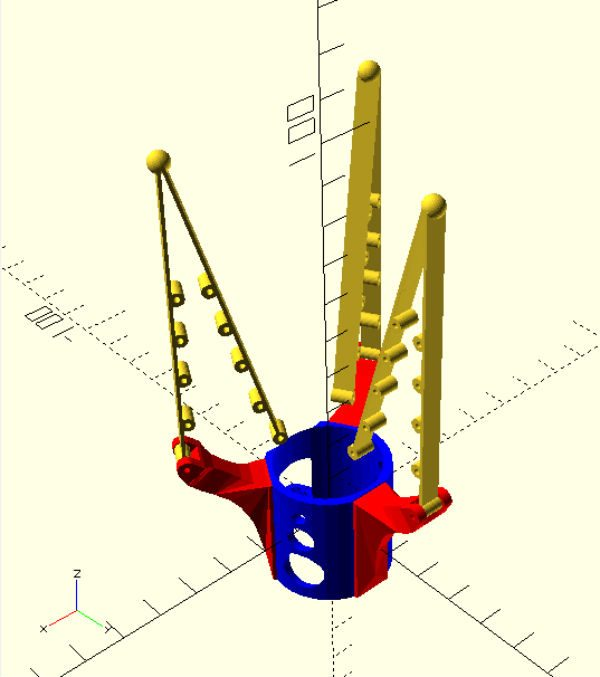 adaptive gripper openscad thingiverse