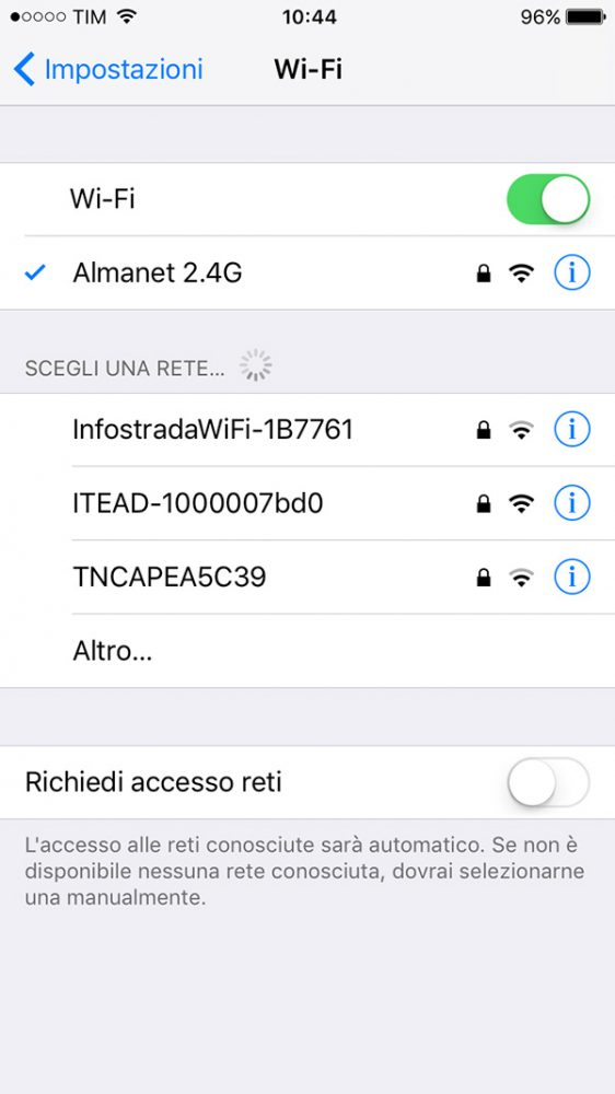 connect your wifi network