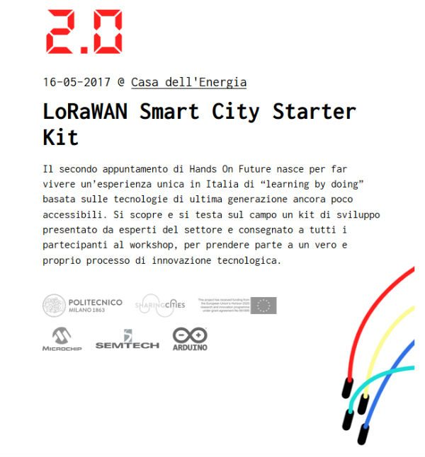 Hands On Future v2 LoRaWAN Smart City