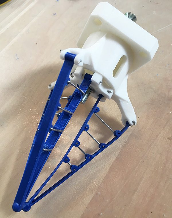 adaptive gripper 3d printed completed picture start