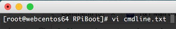 Rpi Zero W Wifi edit cmdline