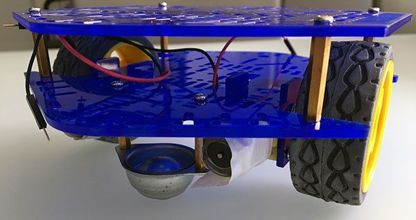 Assembly HBR robot lasercut