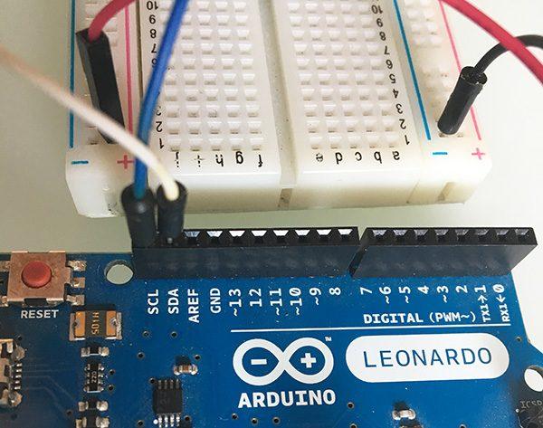 Attiny84 IIC Leonardo arduino conn