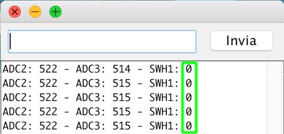 Leonardo master ADC i2C joystick switch switch
