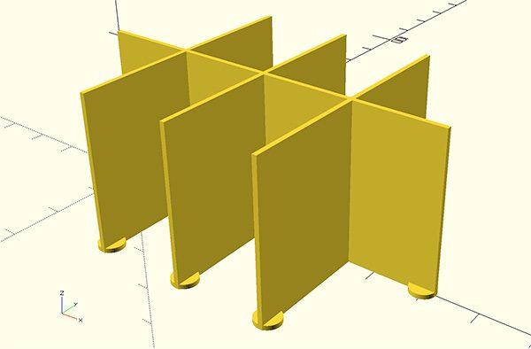 Parametric separator 1v3o
