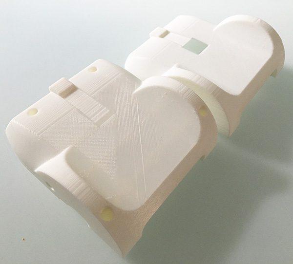 ZeroBot RPi Zero W model 3d printed