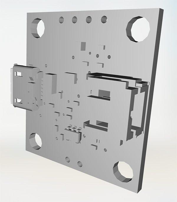 ZeroBot RPi Zero W sparkfun powercell