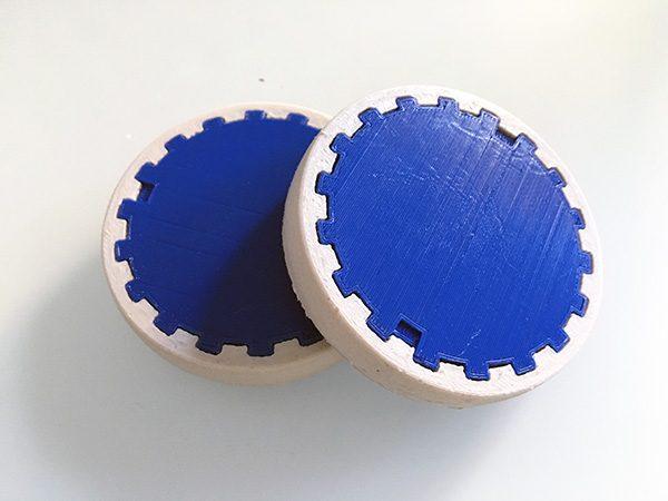 ZeroBot RPi wheels front