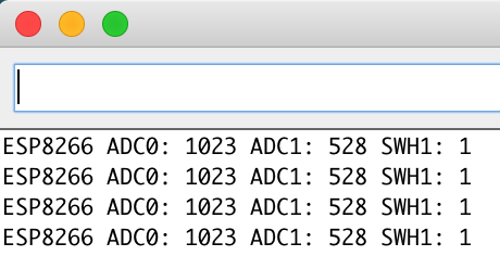 WeMos I2C Attiny85 serial right