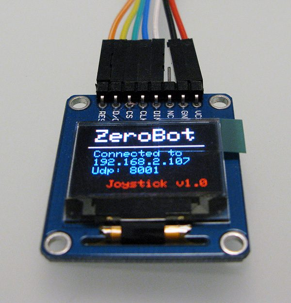 WeMos OLED WiFI Connected