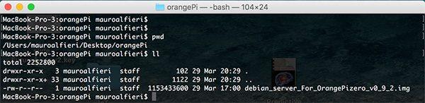 OrangePi install Debian image