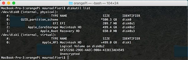 OrangePi install Debian diskutils without SD