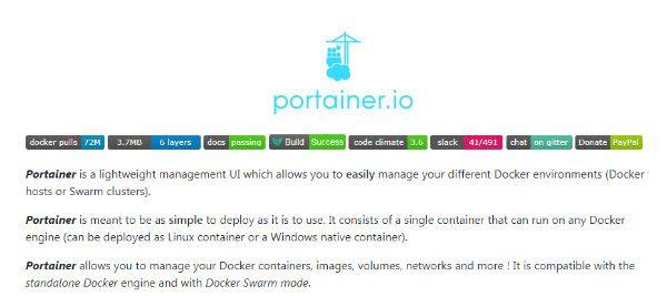 Docker Portainer GitHub