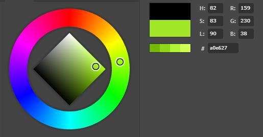 Rotary encoder attiny85 neopixel color wheel 159_230_38