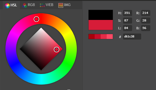 Rotary encoder attiny85 neopixel color wheel 214_28_56