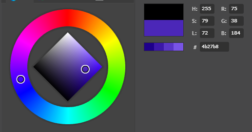 Rotary encoder attiny85 neopixel color wheel 75_38_184