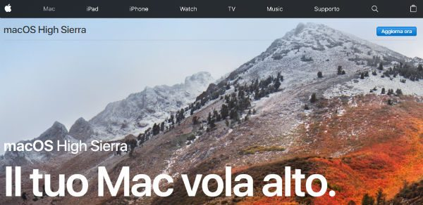 MAC OS X High Sierra
