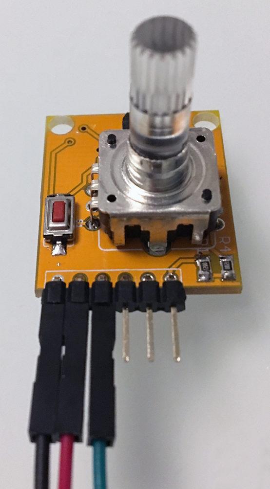 Rotary encoder attiny85 neopixel collegamenti
