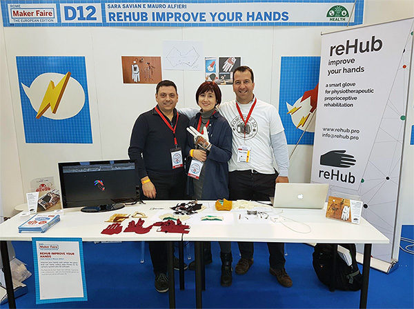 MFR17 reHub Stand paolo