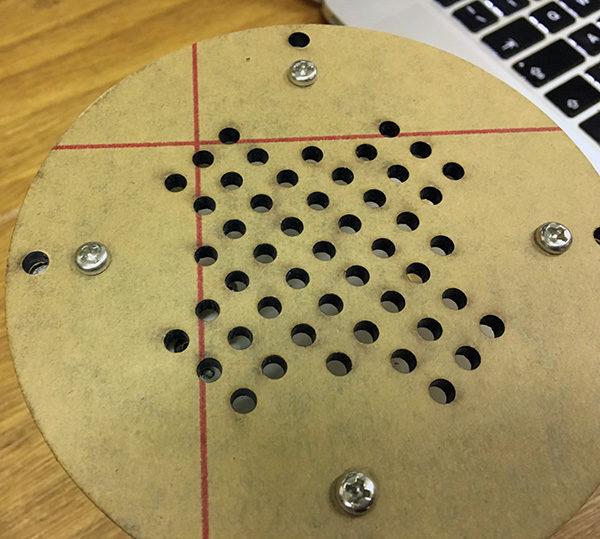 Base rotante photo lazy susan holes