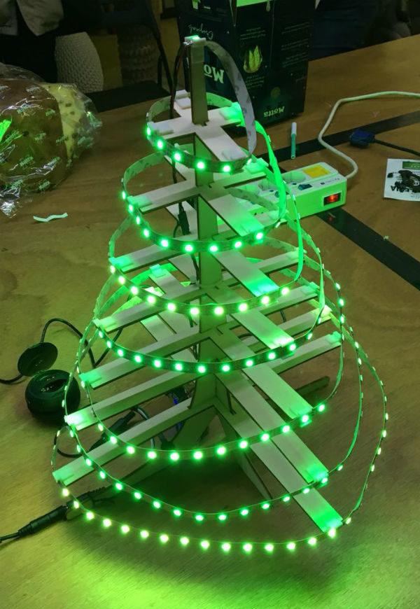 christmas tree neopixel dfplayer light on
