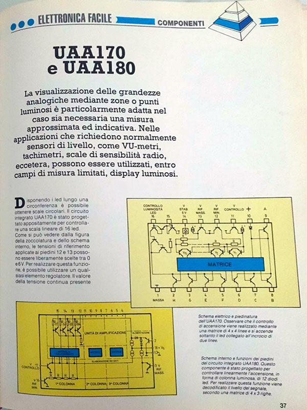 elettronica facile uaa170