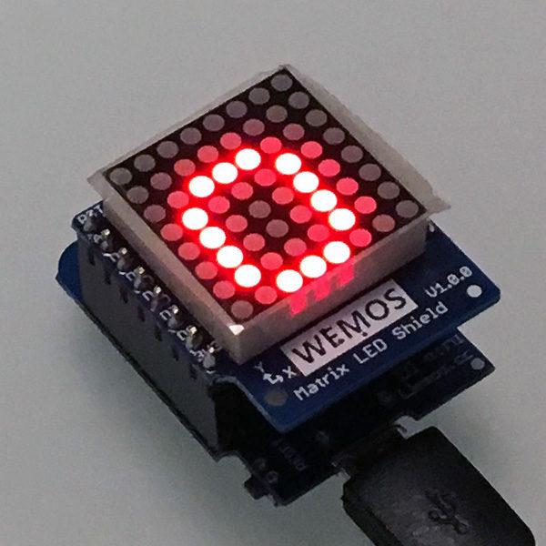 WeMos Matrix 8x8