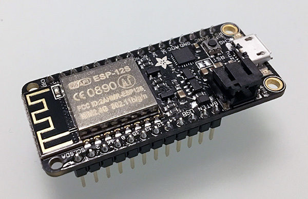 adafruit feather HUZZAH ESP8266