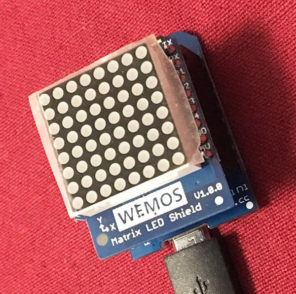 matrix 8x8 wemos d1