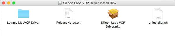 ESP8266 WIFI Kit8 OLED driver install pkg