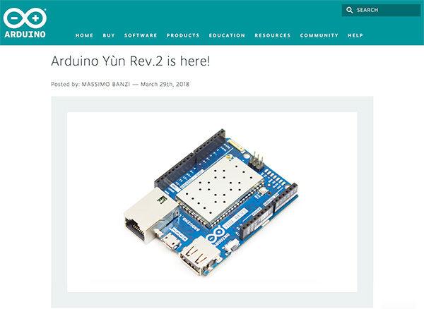 Arduino Yun Rev.2