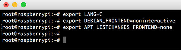 OpenMediaVault 4 exports variables