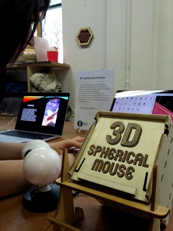 3d spherical mouse wemake