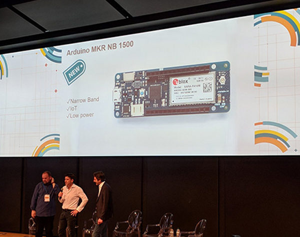 Arduino Day 2018 MKR family NB 1500