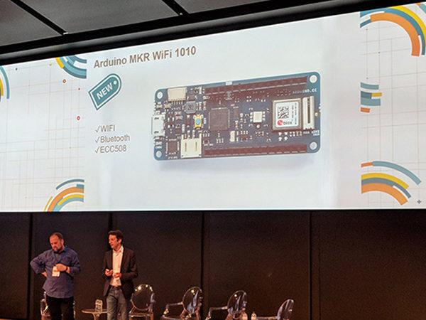 Arduino Day 2018 MKR wifi 1010 ESP32
